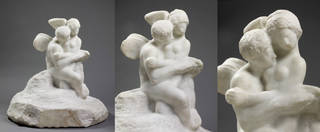 Cupid and Psyche, group, Auguste Rodin, about 1898, France. Museum no. A.49-1914. © Victoria and Albert Museum, London