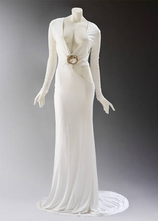 Ensemble, Tom Ford for Gucci, 2004, Italy. Museum no. T.6:1 to 3-2005. © Victoria and Albert Museum, London