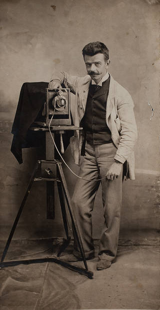 Self-portrait with camera, Guillermo Kahlo, 1900 – 12, Mexico City. © Frida Kahlo & Diego Rivera Archives. Bank of Mexico, Fiduciary in the Diego Rivera and Frida Kahlo Museum Trust