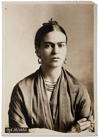 Frida Kahlo, by Guillermo Kahlo, 16 October 1932, Coyoacán, Mexico. © Frida Kahlo & Diego Rivera Archives. Bank of Mexico, Fiduciary in the Diego Rivera and Frida Kahlo Museum Trust
