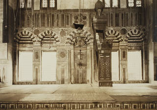 The sanctuary in the funerary complex of Mamluk Sultan Qansuh al-Ghawri, built in 1504–5, Cairo