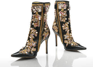 Photo of Boots, Dolce & Gabbana, 2000, Italy. Museum no. T.70:1&2-2012. © Victoria and Albert Museum, London