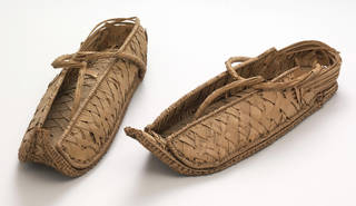 Photo of Overshoes, unknown maker, 1550 – 1070 BC, Egypt. Museum no. 865&A-1903. © Victoria and Albert Museum, London