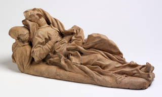 The Blessed Ludovica Albertoni, Gianlorenzo Bernini, 1672, Italy. Museum no. A.93-1980. © Victoria and Albert Museum, London