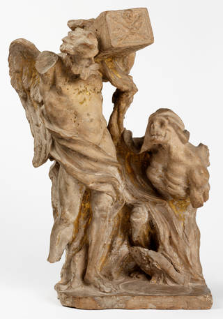 Time and Death, Gianlorenzo Bernini, about 1670, Italy. Museum no. A.29-1984. © Victoria and Albert Museum, London