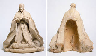 Front and rear view: Pope Alexander VII, Gianlorenzo Bernini, about 1669 –70, Italy. Museum no. A.17-1932. © Victoria and Albert Museum, London