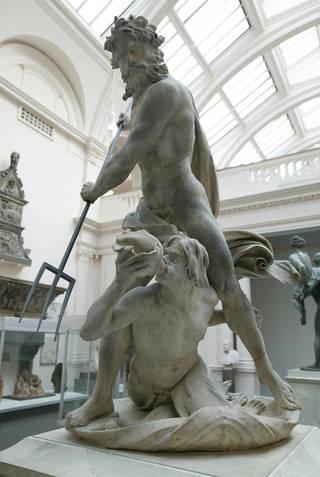 Neptune and Triton, Gianlorenzo Bernini, about 1622 –3, Italy. Museum no. A.18:1-1950. © Victoria and Albert Museum, London