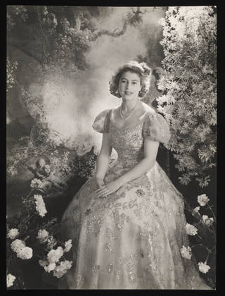 Princess Elizabeth at Buckingham Palace, photograph by Cecil Beaton, 1945, England. Museum no. E.1361-2010. © Victoria and Albert Museum, London
