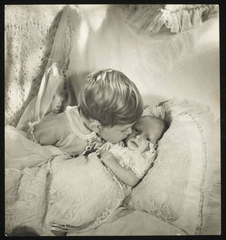 Prince Charles and Princess Anne, photograph by Cecil Beaton, 1950, England. Museum no. PH.642-1987. © Victoria and Albert Museum, London