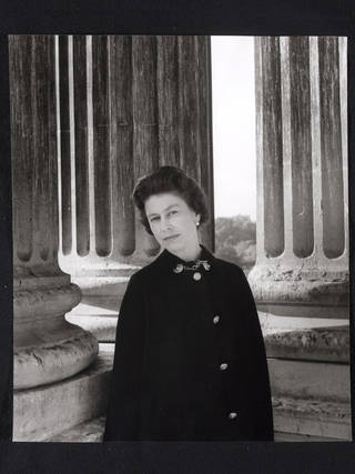 Queen Elizabeth II, photograph by Cecil Beaton, 1968, England. Museum no. PH.412-1987. © Victoria and Albert Museum, London