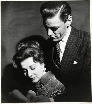 Photo of Princess Alexandra and the Honourable Angus Oglivy, photograph by Cecil Beaton, 1963, England. Museum no. PH.263-1987.  © Victoria and Albert Museum, London