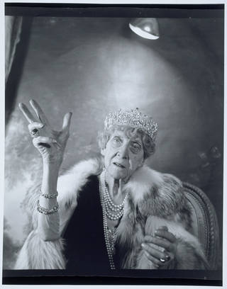 Photo of Princess Marie Louise, photograph by Cecil Beaton, 1953, England. Museum no. PH.8540-1987. © Victoria and Albert Museum, London