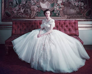 Photo of H.R.H. Princess Margaret, photograph by Cecil Beaton, 1951, England. Museum no. CBX 1001-12. © Victoria and Albert Museum, London