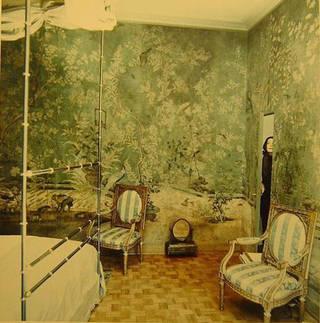 Baroness Pauline de Rothschild at her apartment in Paris, 1969, © Conde Nast/Horst Estate