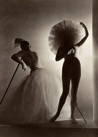 Photo of Salvador Dalí's costumes for Leonid Massine's ballet Bacchanale, 1939. © Condé Nast/Horst Estate
