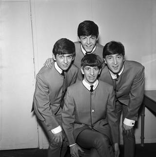 Photo of The Beatles, photograph by Harry Hammond, 1960s, UK. Museum no. S.9084-2009. © Victoria and Albert Museum, London