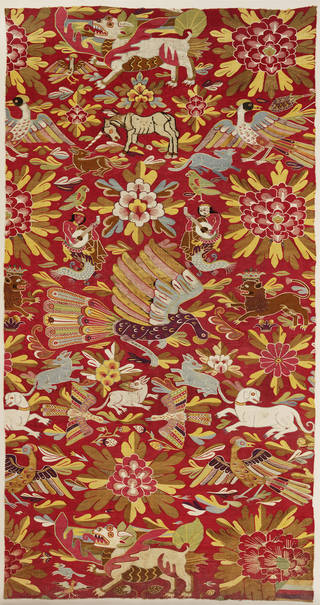 Photo of Tapestry, unknown, 1680 – 1720, probably Peru. Museum no. 933-1901. © Victoria and Albert Museum, London