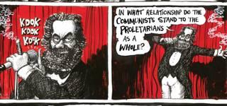 V A Martin Rowson On Visual Satire And The Communist Manifesto