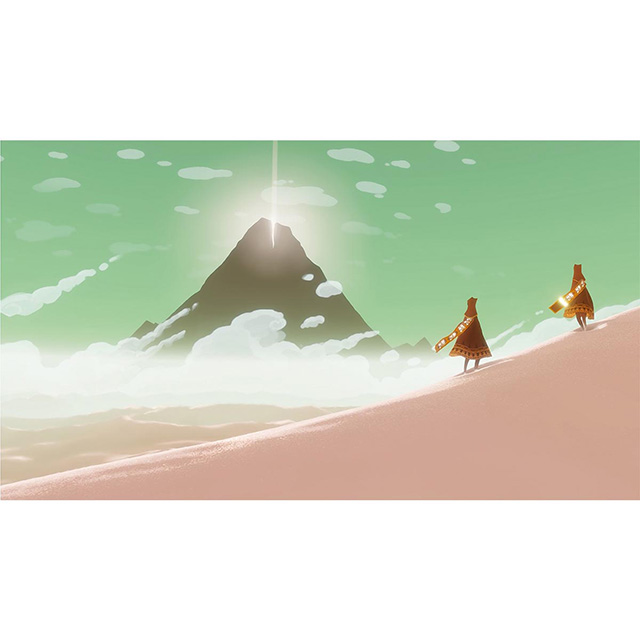 Fellow Travellers limited edition print, Journey, 2012 by Thatgamecompany
