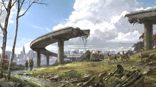 Va Design The Last Of Us And The Post Apocalypse By Darran - The-last-of-us-new-maps