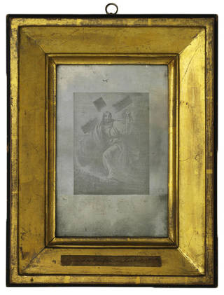 Le Christ portant sa croix, photograph by Joseph Nicéphore Niépce, about 1827, France. Museum no. RPS.1-2017. © Victoria and Albert Museum, London