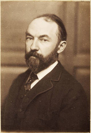 Thomas Hardy, photograph by Frederick Hollyer, 1884, England. Museum no. 7659-1938. © Victoria and Albert Museum, London