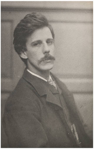 Dugald MacColl, photograph by Frederick Hollyer, about 1884, England. Museum no. 7649-1938. © Victoria and Albert Museum, London
