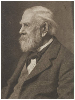 Frederick Hollyer, photograph by Frederick Hollyer, 1920, England. Museum no. 7918-1938. © Victoria and Albert Museum, London