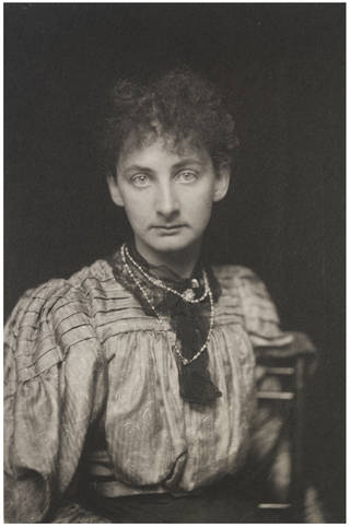 Photo of Constance Lytton, photograph by Frederick Hollyer, 1899, England. Museum no. 7821-1938. © Victoria and Albert Museum, London