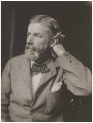Photo of Edward Carpenter, photograph by Frederick Hollyer, about 1890, England. Museum no. 7610-1938. © Victoria and Albert Museum, London