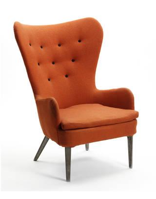 DA 1, armchair, Ernest Race, 1946, UK. Museum no. W.76:1-1983. © Victoria and Albert Museum, London