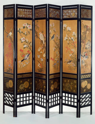 Photo of Screen, designed by William Eden Nesfield, 1867, England. Museum no. W.37-1972. © Victoria and Albert Museum, London