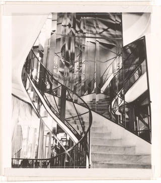 Photo of Staircase in the home of Coco Chanel, photograph by Curtis Moffat, about 1925, France. Museum no. E.838-2007. © Victoria and Albert Museum, London/Estate of Curtis Moffat
