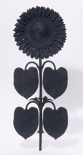 Section of railing from the railings that encircled the Japanese Pavilion at the Centennial Exhibition of 1876 in Philadelphia and the Paris Exhibition of 1878, designed by Thomas Jeckyll, manufactured by Barnard, Bishop and Barnard, 1876, Norwich, England. Museum no. CIRC.530-1953. © Victoria and Albert Museum, London