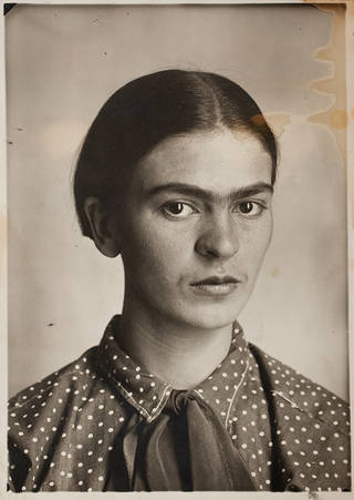 Frida, by Guillermo Kahlo, about 1926, Coyoacán, Mexico. © Frida Kahlo & Diego Rivera Archives. Bank of Mexico, Fiduciary in the Diego Rivera and Frida Kahlo Museum Trust.
