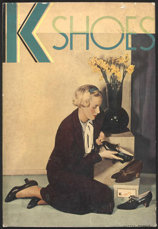 Advertisment for K Shoes, Curtis Moffat, about 1930. Museum no. E.3636-2007. © Victoria and Albert Museum, London