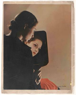 Portrait in mirror, photograph by Curtis Moffat, about 1930. Museum no. E. 2261-2007. © Victoria and Albert Museum, London/Estate of Curtis Moffat