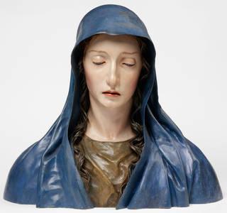 The Virgin of Sorrows, José de Mora, about 1680 –1700, Spain.  Museum no. 1284-1871. © Victoria and Albert Museum, London