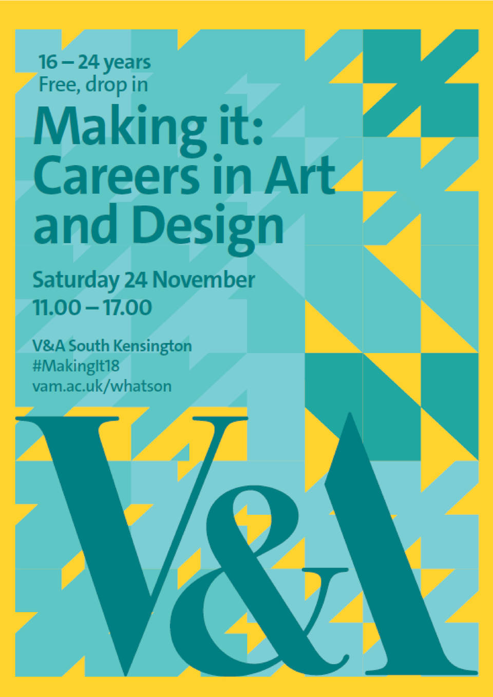 V A Making It Careers In Art And Design