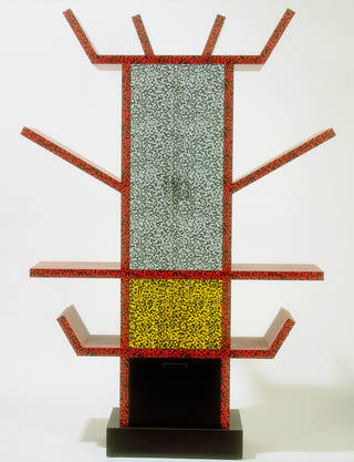Photo of Casablanca, sideboard, Ettore Sottsass Jr, 1981, Italy. Museum no. W.14:1 to 6-1990. © Victoria and Albert Museum, London.