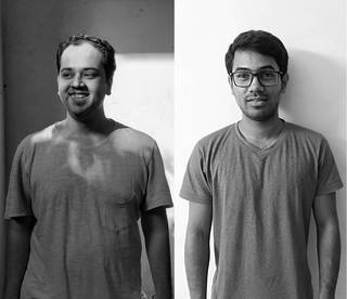 (Left to right) Dhruv Jani & Sushant Chakraborty. © Studio Oleomingus