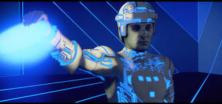 Dinner and a Movie: Tron photo