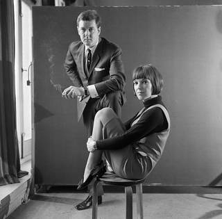 Mary Quant and Alexander Plunket Greene