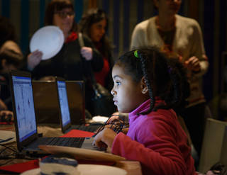Digital Kids: Hack, Scissors Rock photo