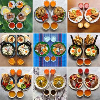 Symmetry Breakfast, Michael Zee. © Michael Zee