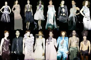 Fashion in Motion: Swarovski, 2004. © Victoria and Albert Museum, London