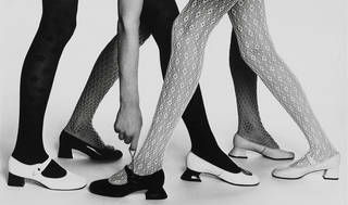Mary Quant tights and shoes, about 1965. Mary Quant Archive
