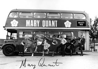 The Mary Quant Beauty Bus, 1971 © INTERFOTO / Alamy Stock Photo
