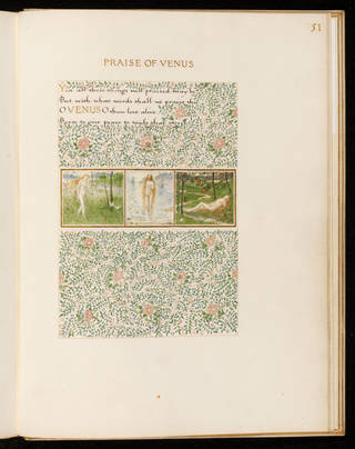 A Book of Verse by William Morris