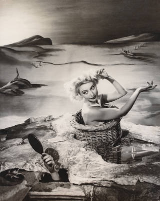 A Day Dream, Angus McBean, 1938, UK. Museum no. PH.25-1981. © Victoria and Albert Museum, London